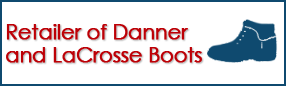 Retailer of Danner and LaCrosse Boots